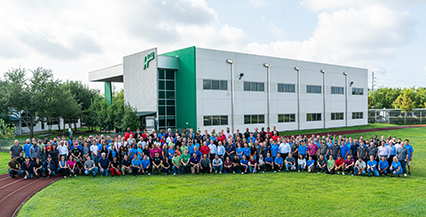 Group photo of HCSS Employees
